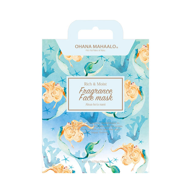 Ohana Mahaalo Fragrance Face Mask 7sheets [5 Types] 香氛保湿面膜