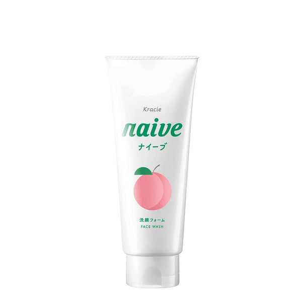 Kracie Naive Refresh Face Wash 130g [3 Scents] 嘉娜宝 清爽洁面乳 柚子/蜜桃/绿茶