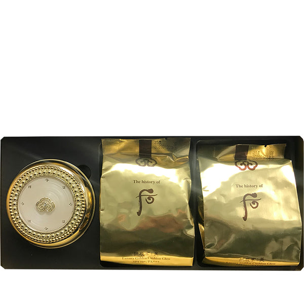 The History of Whoo Gonginhyang:Mi Luxury Golden Cushion Glow No.21 Special Set