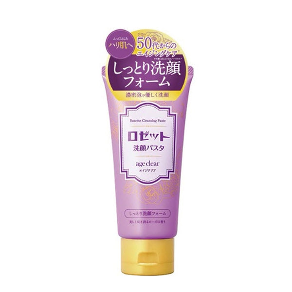 Rosette Cleansing Pasta Age Clear Face Wash 120g [2 Types] 抗初老系列水润泡沫洗面奶