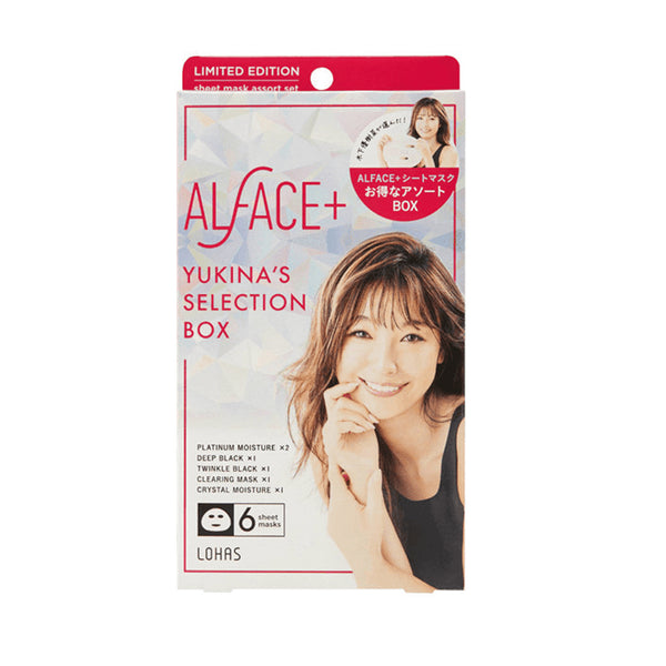Lohas Alface+ Yukina's Selection Box Face Mask 6pcs