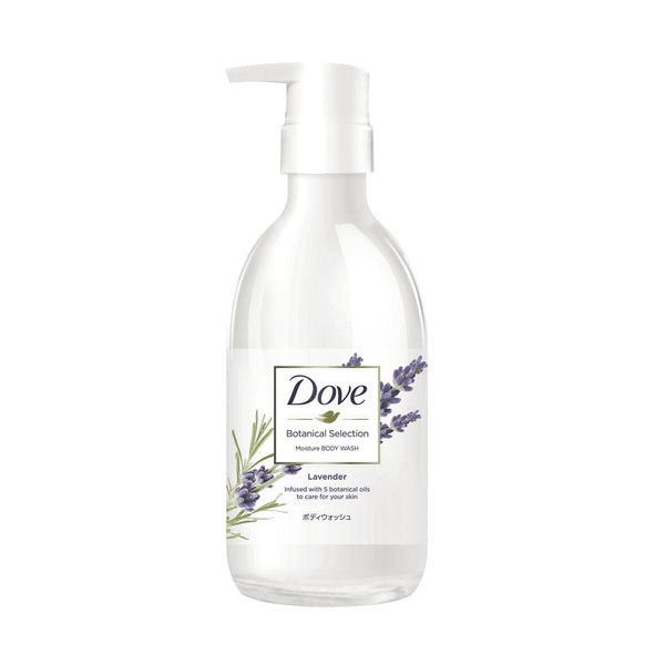 Lever Dove Botanical Selection Moisture Body Wash Lavender 500ml  日本植萃滋养沐浴乳-薰衣草香
