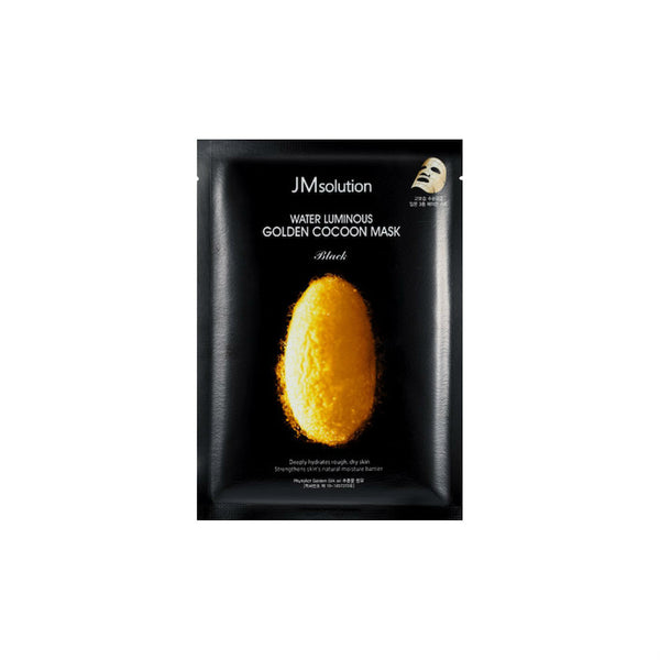 JM SOLUTION Water Luminous Golden Cocoon Mask (10PCS) 蚕丝氨基酸水肌美白面膜