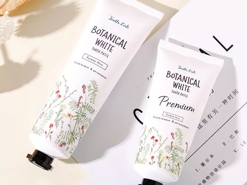 Teeth Lab Botanical White Tooth Paste 日本botanical white植物美白牙膏去黄去口气清洁牙垢