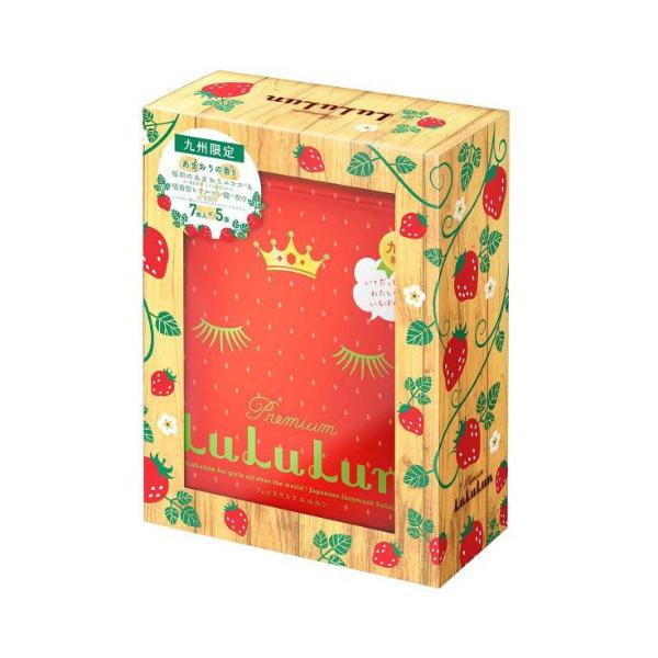 LULULUN Premium Amaou Strawberries Face Mask (1 box/35pcs) 草莓精华抗痘亮白面膜