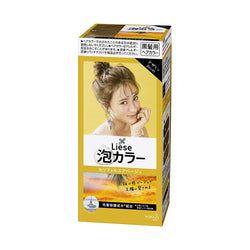 [Repackaged] KAO Liese Prettia Bubble Foaming Hair Color Kit #California Beige