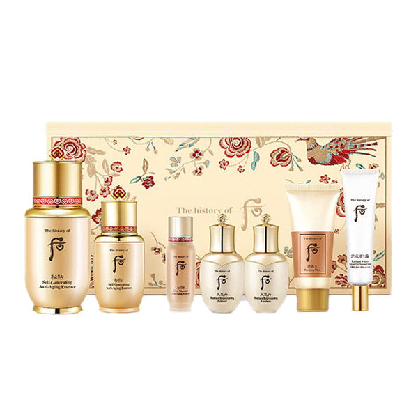 The History of Whoo Bichup Ja Saeng Anti-Aging Essence 2pc Set Whoo后 秘贴 专柜版秘贴三合一保湿滋润精华套盒