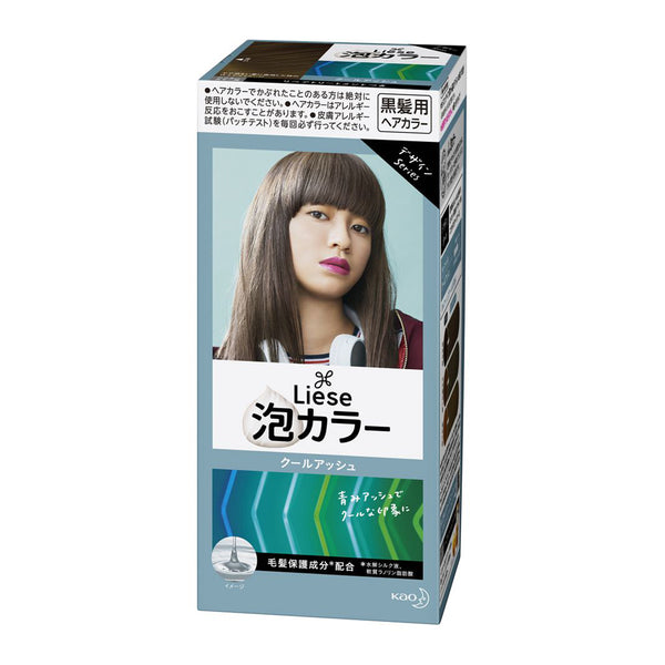 [Repackaged] KAO Liese Prettia Bubble Hair Color Dying Kit #Cool Ash