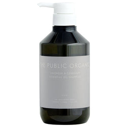 THE PUBLIC ORGANIC Lavender & Geranium Essential Oil Shampoo & Treatment 500ml 无硅薰衣草精油洗发水护发素