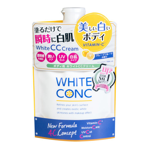 WHITE CONC CC Cream for Body 200g 身体美白CC霜 #葡萄柚香