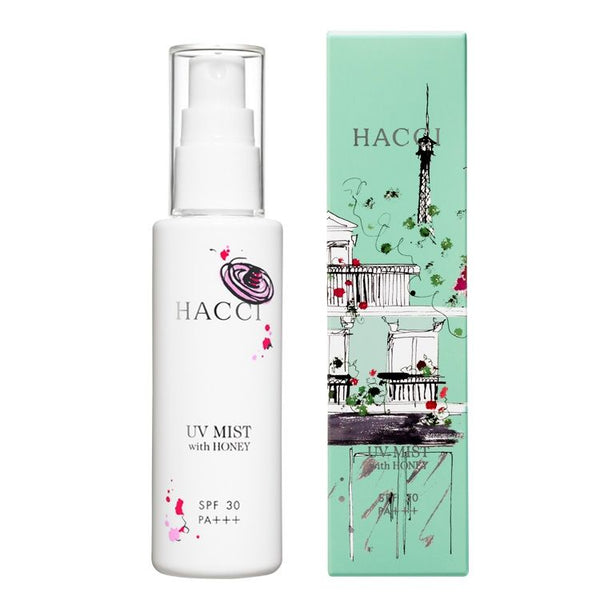 HACCI UV Mist with Honey SPF30 PA+++ 80ml 日本HACCI 蜂蜜精华UV防晒喷雾 SPF30 PA+++