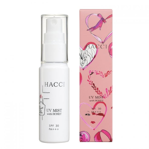 HACCI UV Mist with Honey SPF30 PA+++ 30ml 日本HACCI 蜂蜜精华UV防晒喷雾 SPF30 PA+++