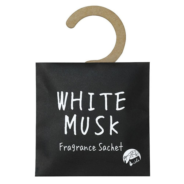John's Blend Fragrance Sachet For Closet White Musk 1pc