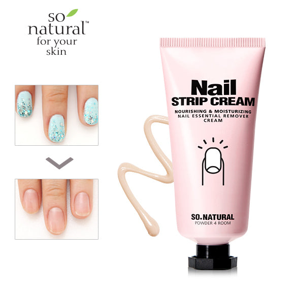 So Natural Nail Strip Cream 30ml 韩国SO NATURAL 滋润保湿指甲乳