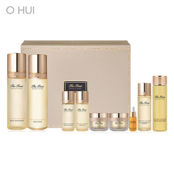 O HUI The First Geniture Emulsion & Skin Softener Set 欧蕙 干细胞极致修复系列水乳套装