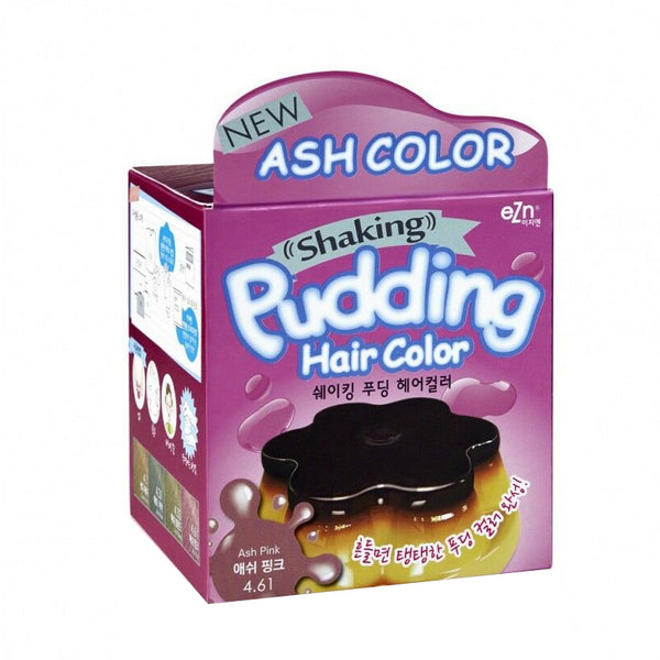 EZN Shaking Pudding Hair Color (#4.61 Ash Pink)