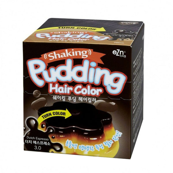 EZN Shaking Pudding Hair Color (#3.0 Dutch Espresso)
