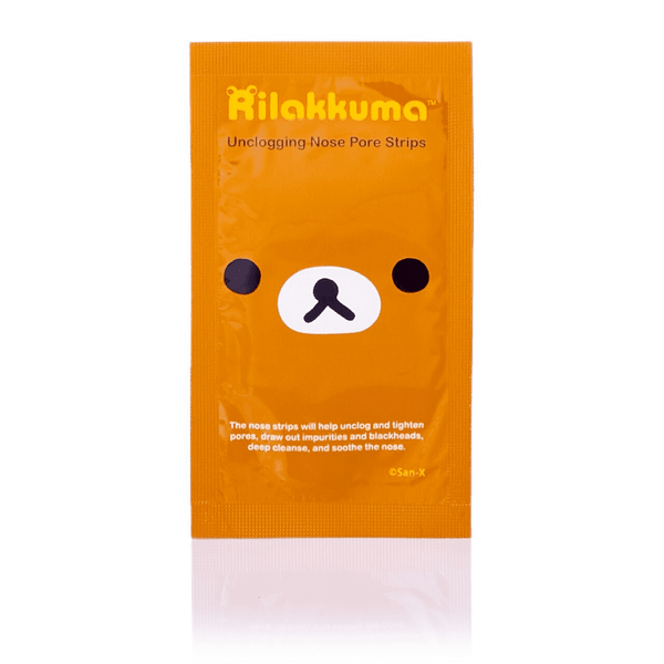 San-X Rilakkuma Unclogging Nose Pore Strips (6 PCS)
