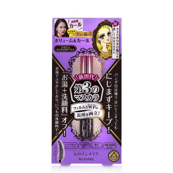 KissMe Heroine Make Volume&Curl Mascara Advanced Film #02 Brown