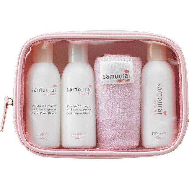 Samourai Woman Travel Set (40ml X 3PCS) & Original Hand Towel