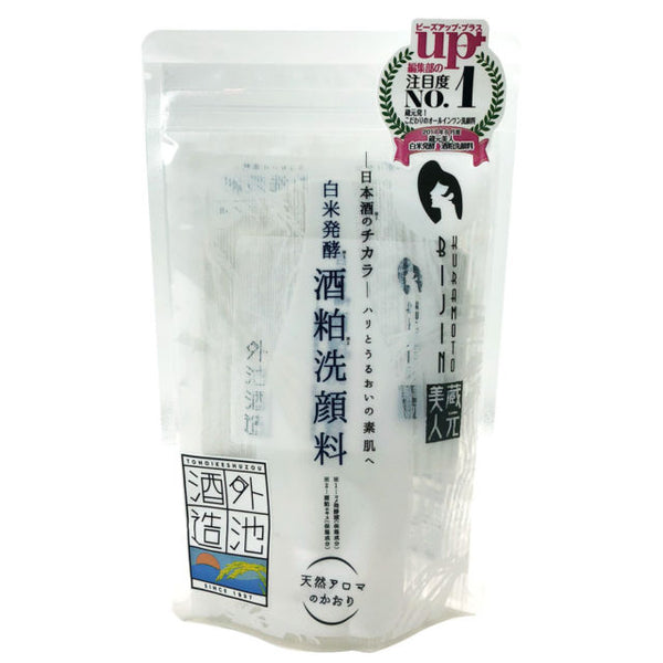 TONOIKE Shuzo Kuramoto Bijin Fermented White Rice Face Wash 3.5oz 藏元美人 白米发酵洗面奶