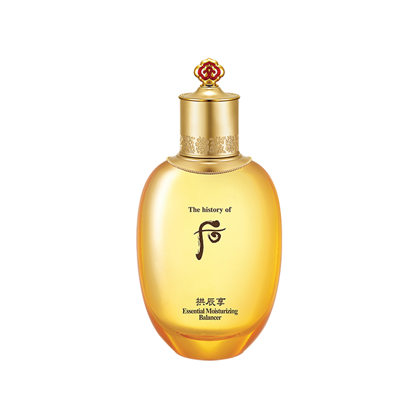 THE HISTORY OF WHOO: GONGJINHYANG ESSENTIAL MOISTURIZING BALANCER 150ML 后:拱辰享气韵生润颜滋养液 [EXP. 07/18/2021]