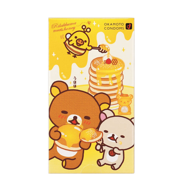 Okamoto Rilakkuma Hot Jelly Condoms 10 pcs