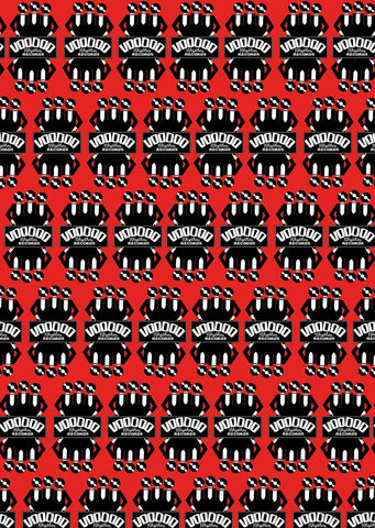 Voodoo Rhythm Wrapping paper