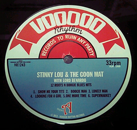 Voodoo Rhythm Records Stinky Lou And The Goon Mat 12