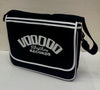 BAG - RETRO MESSENGER  - VOODOO RHYTHM - BLACK