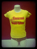 Girl - T-Shirt -  Piss Yellow - Reverend Beat-Man 70's Style