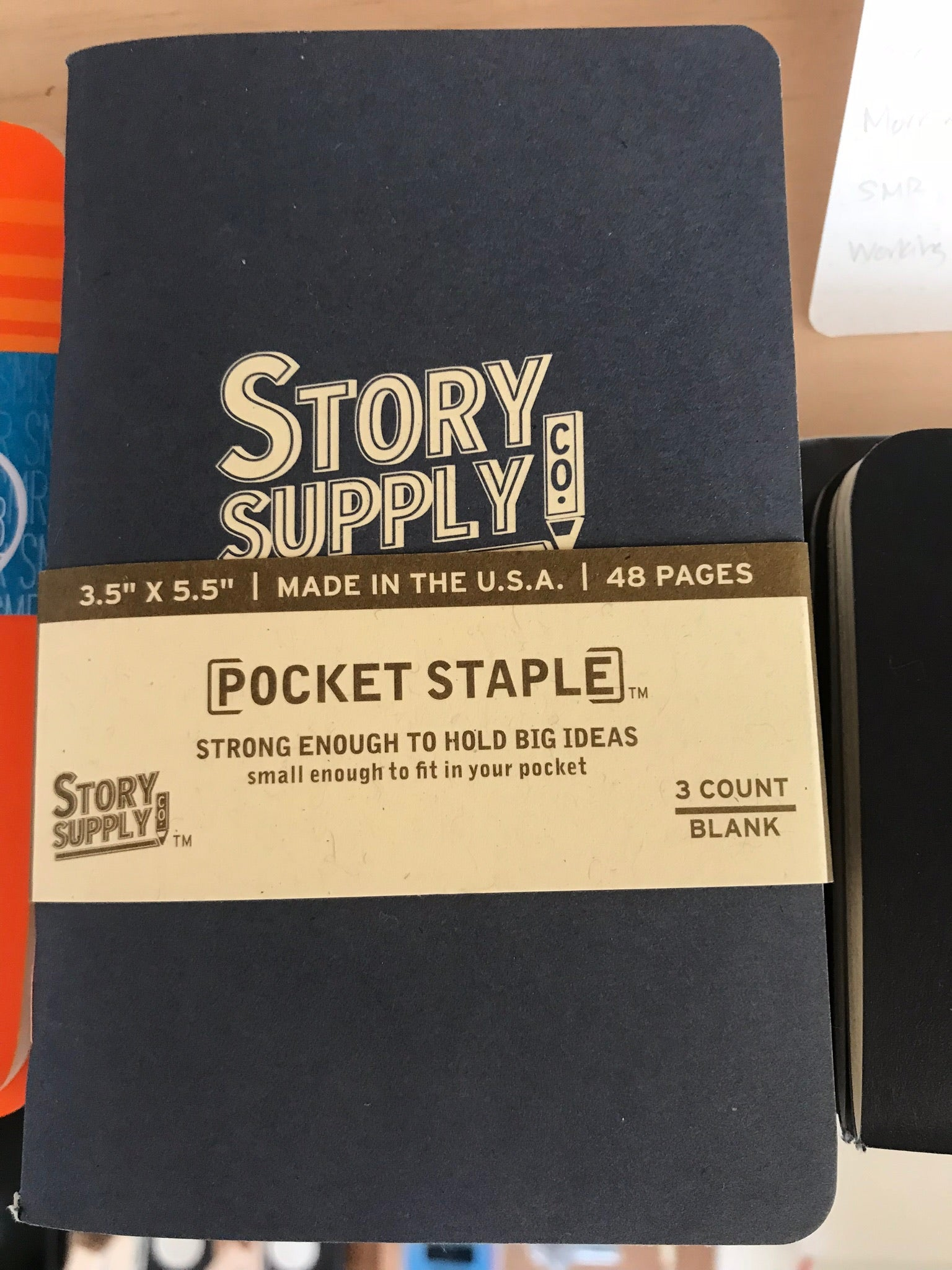 Notebook- Story Supply