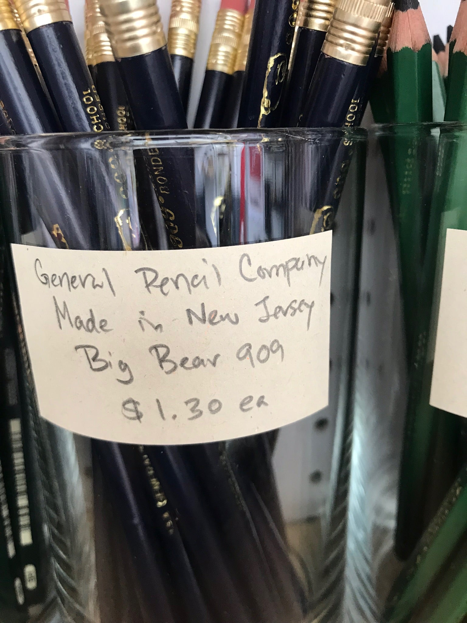 Pencil- Big Bear (General Pencil Company)