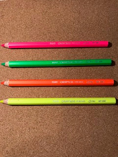 Pencil- Highlighter, Jumbo (Caran D'Ashe)