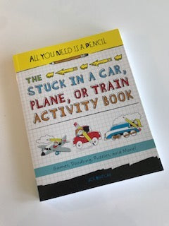 Book- All You Need is A Pencil: Stuck in a Car, Plane, or Train