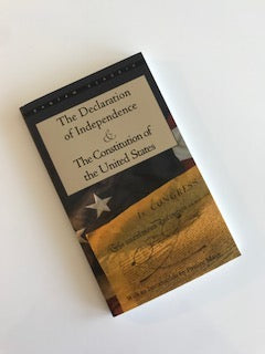 Book: Declaration of Independence and The Constitution