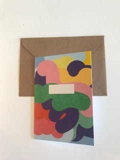 Greeting Card- Papier Tigre