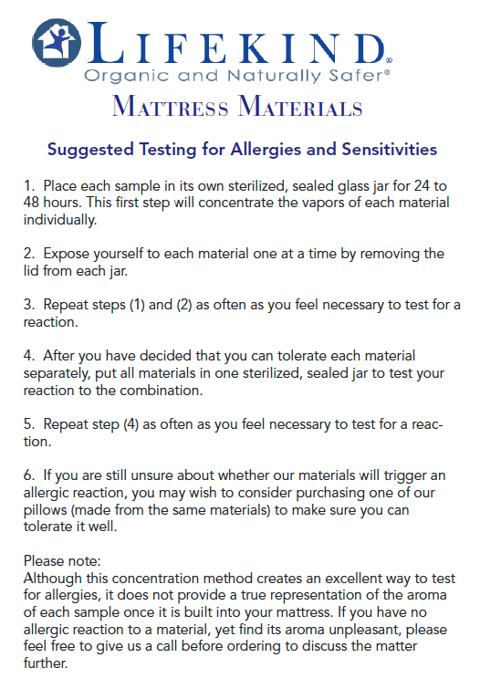 AllergyTest Sheet