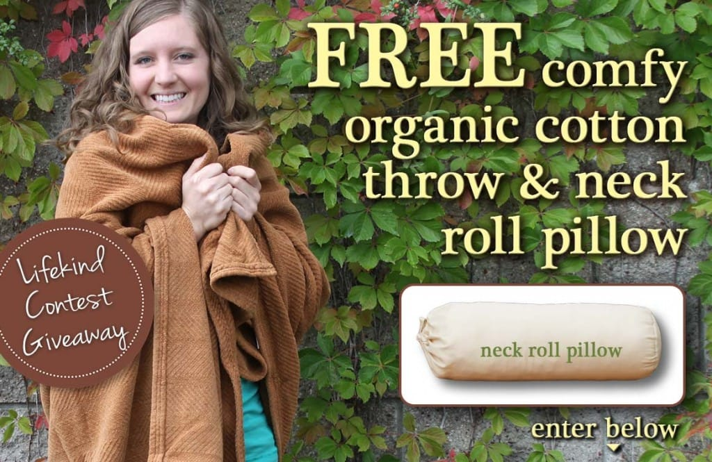 Lifekind Blanket & Neck Roll Giveaway