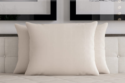 Buckwheat Hull Pillow — Standard (With Wool Wrap)