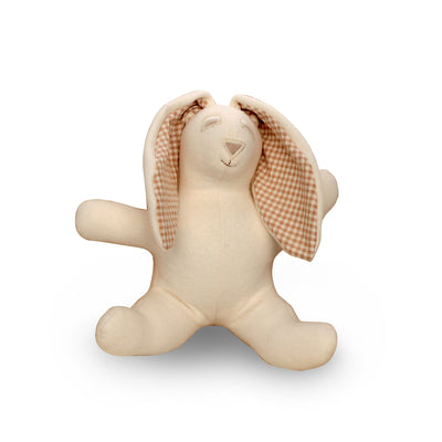 Certified Organic Cotton Stuffed Bunny