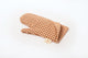 Tan Certified Organic Cotton Oven Mitt-Check