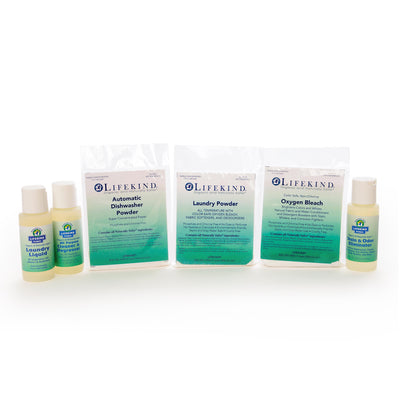 Laundry and Cleaning Sample Kit