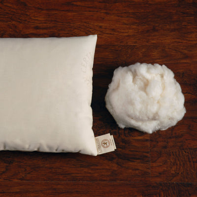 Certified Organic Cotton Pillow — Boudoir