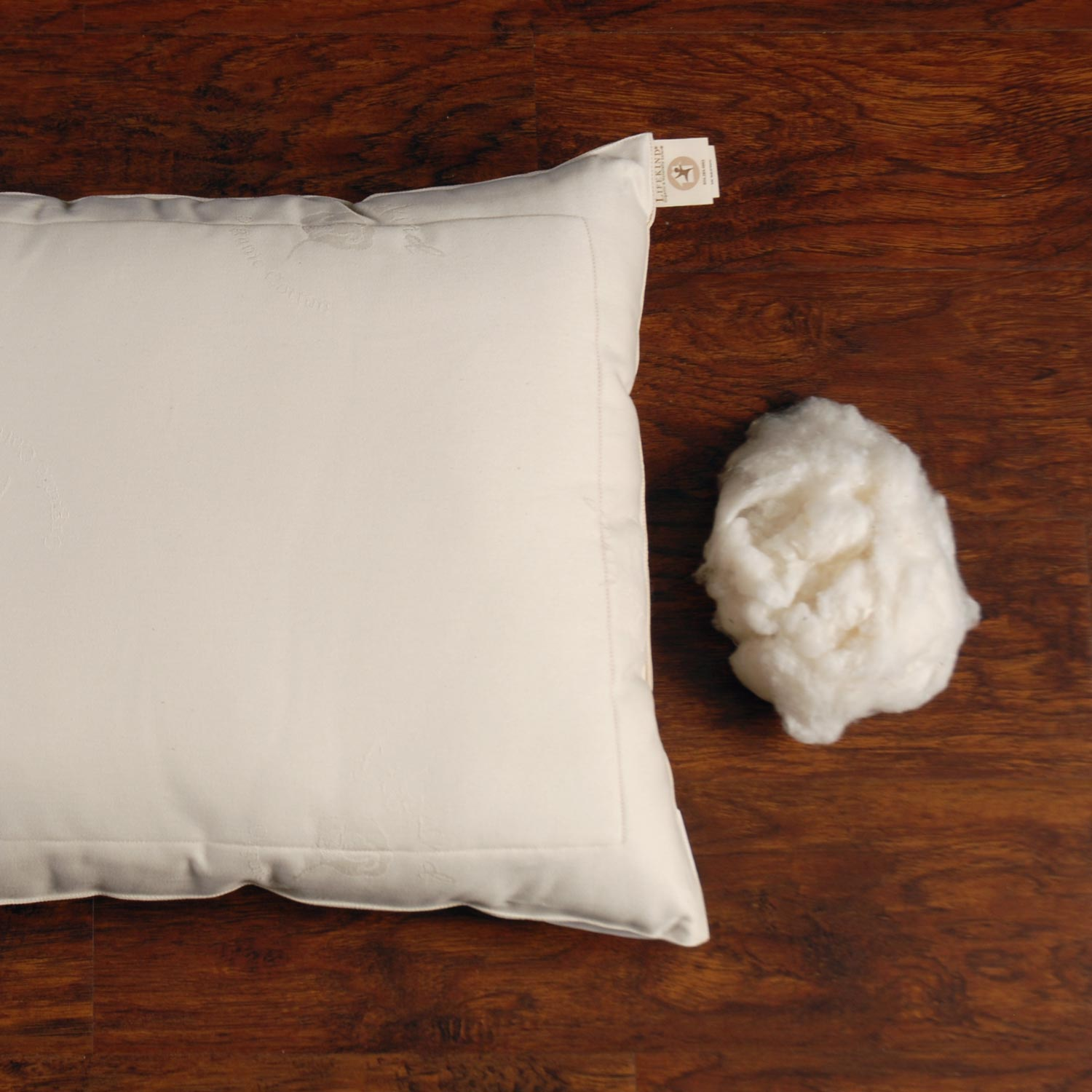 Lifekind Gots Certified Organic Cotton Pillow