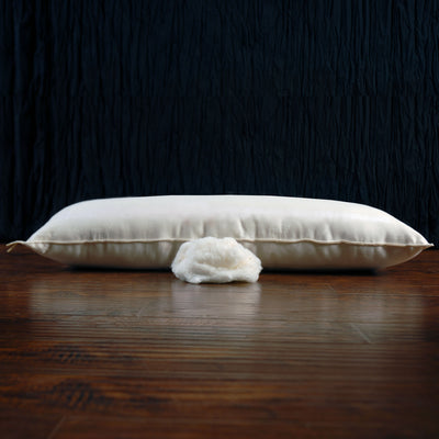 GOTS-Certified Organic Cotton Layering Pillow