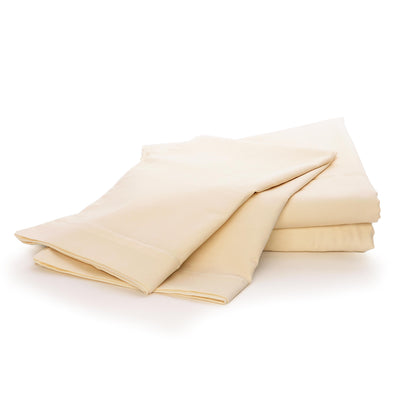 Pure Pillowcases - Certified Organic Cotton Pillowcases in Ivory