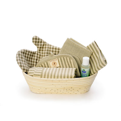Colorgrown Certified Organic Kitchen Gift Basket — Sage