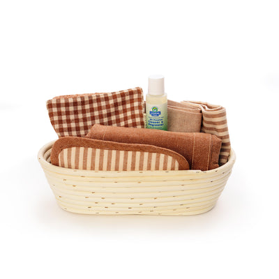 Colorgrown Certified Organic Kitchen Gift Basket — Tan