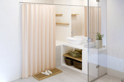 Certified Organic Cotton Shower Curtain